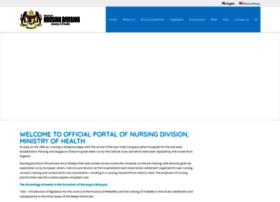 Nursing.moh.gov.my thumbnail