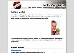 Nutricionysalud.org.es thumbnail