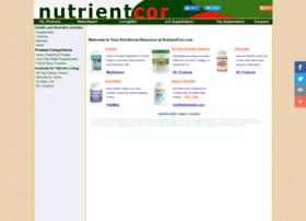 Nutrientcor.com thumbnail