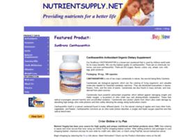 Nutrientsupply.net thumbnail
