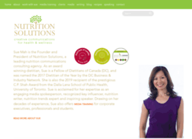 Nutritionsolutions.ca thumbnail