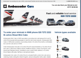 Nw8minicabs.co.uk thumbnail