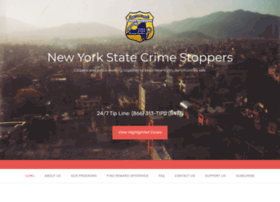 Nyscrimestoppers.org thumbnail