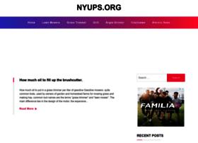 Nyups.org thumbnail