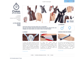 O-coton.com thumbnail