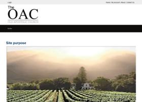 Oacwc.net thumbnail