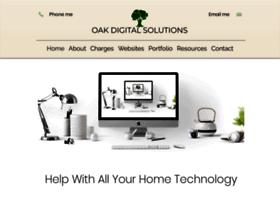 Oakdigitalsolutions.co.uk thumbnail