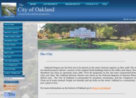 Oaklandoregon.org thumbnail