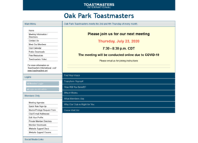 Oakparktoastmasters.org thumbnail