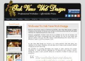 Oakviewwebdesign.com thumbnail