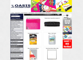 Oasis-stationery.co.za thumbnail
