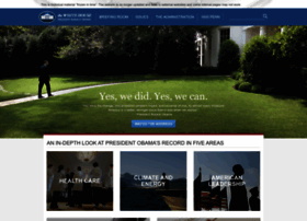 Obamawhitehouse.archives.gov thumbnail