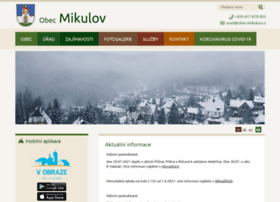 Obec-mikulov.cz thumbnail
