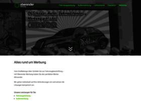 Oberender-werbung.de thumbnail
