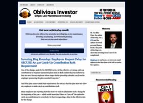 Obliviousinvestor.com thumbnail
