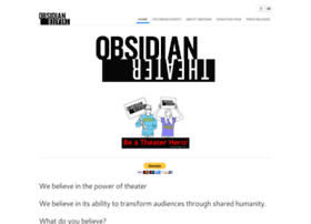 Obsidiantheater.org thumbnail