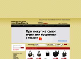 Obuvshop.ru thumbnail