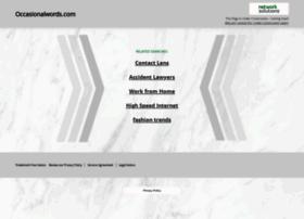 Occasionalwords.com thumbnail