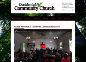 Occidentalcommunitychurch.org thumbnail