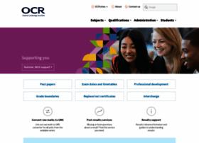Ocr.org.uk thumbnail