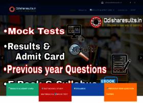 Odisharesults.in thumbnail