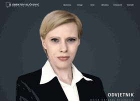 Odvjetnik-obratov-klickovic.hr thumbnail