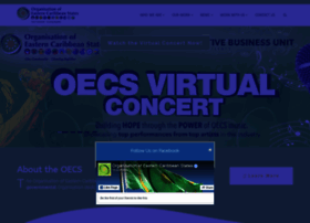 Oecs.org thumbnail
