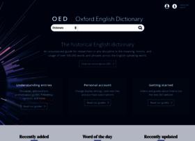 Oed.com thumbnail