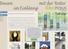 Oekohaus-calden.de thumbnail
