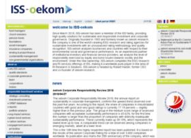 Oekom-research.de thumbnail