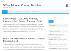 Officeaddresscontactnumber.com thumbnail