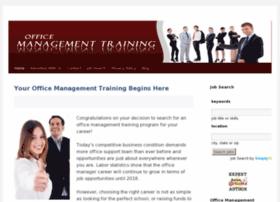 Officemanagementtraining.net thumbnail