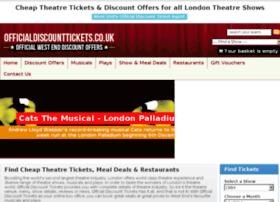 Officialdiscounttickets.co.uk thumbnail