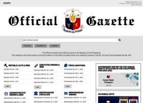 Officialgazette.gov.ph thumbnail