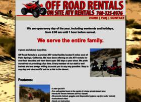 Offroadrentals.com thumbnail