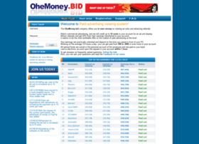 Ohemoney.bid thumbnail