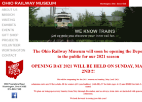 Ohiorailwaymuseum.org thumbnail