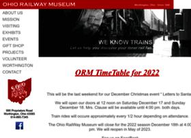Ohiorailwaymuseum.org thumbnail