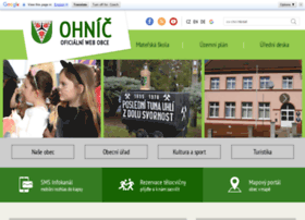 Ohnic.cz thumbnail