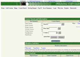 Oklahomagolfguide.info thumbnail