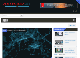 Oldrepublic.net thumbnail