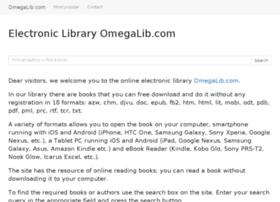 Omegalib.com thumbnail