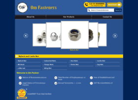 Omfasteners.co.in thumbnail