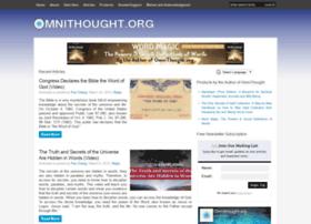 Omnithought.org thumbnail
