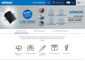 Omronhealthcare.in thumbnail