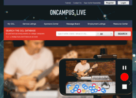 Oncampus.live thumbnail
