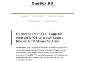 oneboxhd net at Website Informer  Visit Oneboxhd