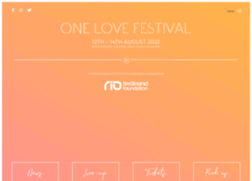 Onelovefestival.co.uk thumbnail