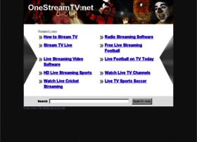 Onestreamtv.net thumbnail