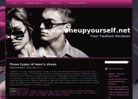 Oneupyourself.net thumbnail